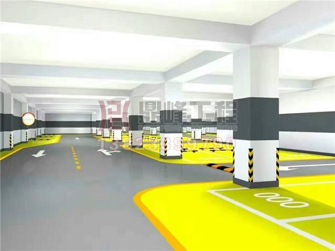 道路划线 停车场设计 停车场划线 车位图片